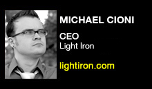Michael Cioni, Light Iron