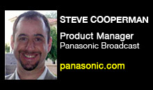 Digital Production Buzz - Steve Cooperman, Panasonic Broadcast &amp; Television Systems