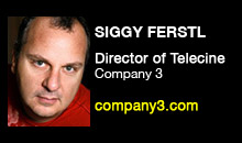 Digital Production Buzz - Siggy Ferstl, Company 3