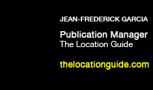 Digital Production Buzz - Jean-Frederick Garcia, The Location Guide