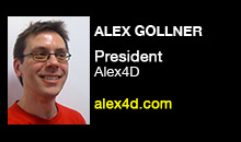 Digital Production Buzz - Alex Gollner, Alex4D