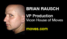 Digital Production Buzz - Brian Rausch, Vicon House of Moves