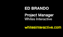 Digital Production Buzz - Ed Brando, Whites Interactive