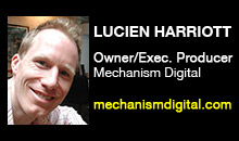 Digital Production Buzz - Lucien Harriott, Mechanism Digital