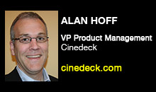Digital Production Buzz - Alan Hoff, Cinedeck