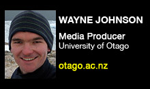 Digital Production Buzz - Wayne Johnson, University of Otago, AVSDU