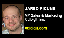 Digital Production Buzz - Jared Picune, CalDigit