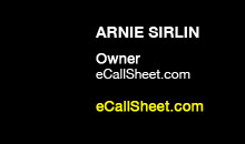 Digital Production Buzz - Arnie Sirlin, eCallSheet.com