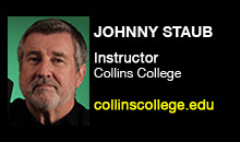 Digital Production Buzz - Johnny Staub, Collins College