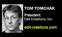 Digital Production Buzz - Tom Tomchak, Edit Creations, Inc.