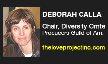 Deborah Calla, Producers Guild of America, Diversity Committee