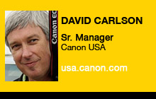2011 GV Expo - David Carlson, Canon USA
