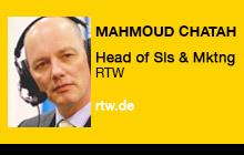 2012 NAB Show - Mahmoud Chatah, RTW