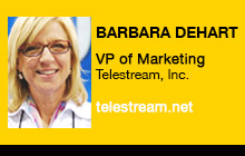 2012 NAB Show, Barbara DeHart, Telestream, Inc.