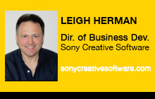 2012 NAB Show - Leigh Herman, Sony Creative Software