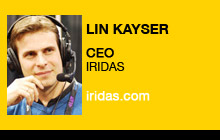 2011 NAB Show - Lin Kayser, IRIDAS