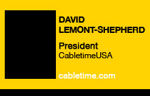 2010 GV Expo - David Lemont-Shepherd, CabletimeUSA