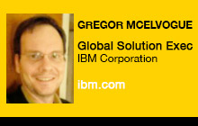 2012 NAB Show - Gregor McElvogue, IBM Corporation