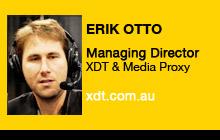 2011 NAB Show - Erik Otto, XDT & Media Proxy