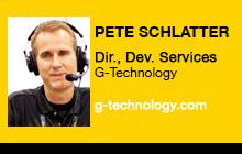 2012 NAB Show - Pete Schlatter, G-Technology