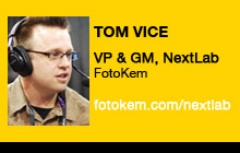 2011 NAB Show - Tom Vice, FotoKem