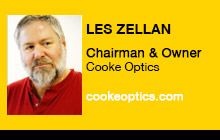 2012 NAB Show - Les Zellan, Cooke Optics