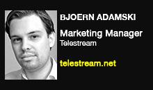 Bjoern Adamski, Telestream