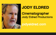 Jody Eldred, Cinematographer