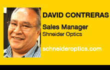 David Contreras, Schneider Optics