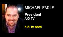 Michael Earle, AIO TV