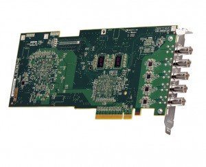 Gigabit Ethernet Thunderbolt on Matrox Vs4 Quad
