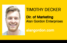 Timothy Decker, Alan Gordon Enterprises