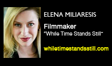 "Elena Miliaresis, ""While Time Stands Still"""