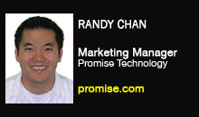 Randy Chan, Promise Technology