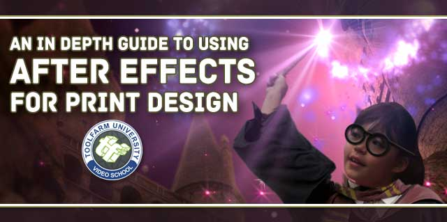 After Effects for Print Design