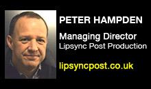 Digital Production Buzz - Peter Hampden, Lipsync Post Production