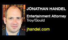 Jonathan Handel, Troy/Gould - The Hollywood Reporter