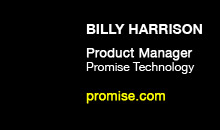 Digital Production Buzz - Billy Harrison, Promise Technology