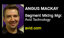 Digital Production Buzz - Angus MacKay, Avid Technology