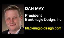 Digital Production Buzz - Dan May, Blackmagic Design, Inc.