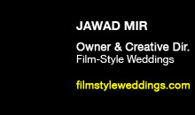 Digital Production Buzz - Jawad Mir, Film-Style Weddings