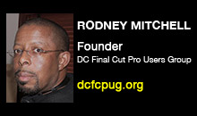 Digital Production Buzz - Rodney Mitchell, DCFCPUG