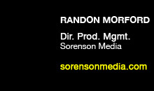 Digital Production Buzz - Randon Morford, Sorenson Media