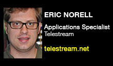 Digital Production Buzz - Eric Norell, Telestream