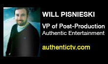 Digital Production Buzz - Will Pisnieski, Authentic Entertainment
