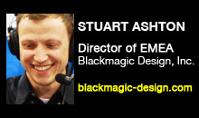 Digital Production Buzz - Stuart Ashton, Blackmagic Design, Inc.