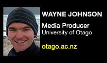 Digital Production Buzz - Wayne Johnson, University of Otago, AVSDU