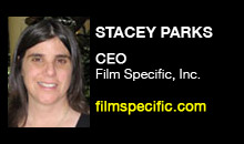 Digital Production Buzz - Stacey Parks, Film Specific, Inc.