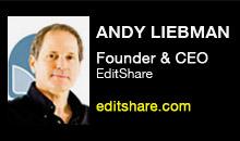 Digital Production Buzz - Andy Liebman, EditShare