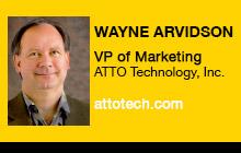 2012 NAB Show - Wayne Arvidson, ATTO Technology
